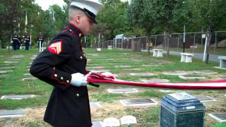 USMC Funeral/Ceremony - Vincent Edgar