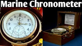 Marine Chronometer , Purpose of Chronometer on Ship . screenshot 1