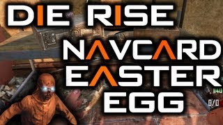 Die Rise Easter Egg - Navcard Table + Navcard Accepted + Svu & Maxis [part 1]