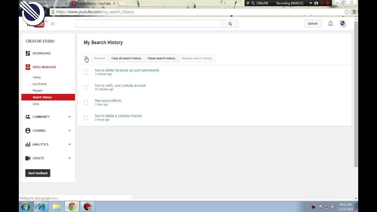 How To Delete Your YouTube Search History (Less Than 30
