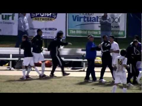Cypress Bay Lightning - Soccer State Champions 2011 - Rhys Williams' goal