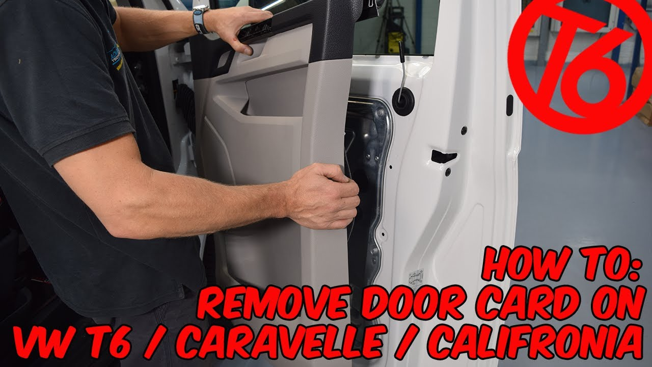 How To Remove The Door Card On Vw T6 Caravelle