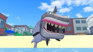 HOW TO BE A SHARK IN ROBLOXIAN HIGHSCHOOL!!