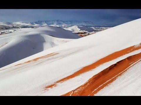 Snowing Again in Sahara Desert & Magnetosphere Decline Causing Jet Streams to Dance (505)