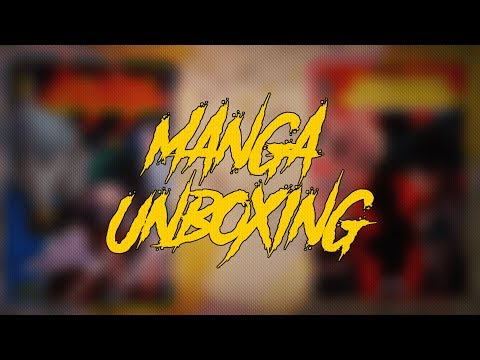A Short Manga Unboxing/Review || Sustain The Industry || Manga Unboxing India