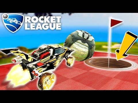 ROCKET LEAGUE MINIGOLF IS HERE, AND IT'S NUTS!