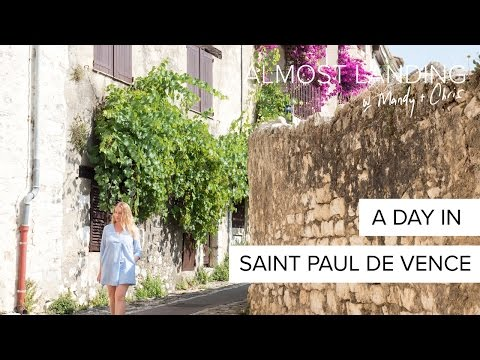 A Day In Saint Paul De Vence, France