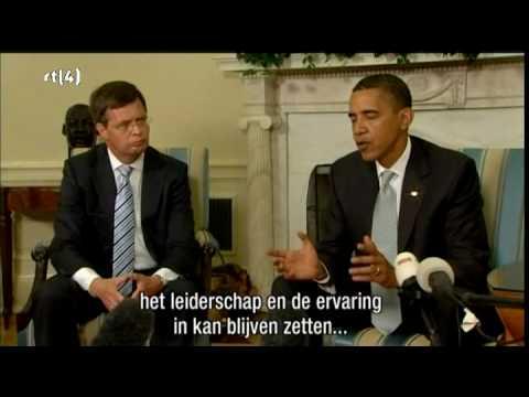 Balkenende op Witte Huis