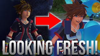 Kingdom Hearts 3 - Square Enix Fixed Soras Derpy Looking Face!