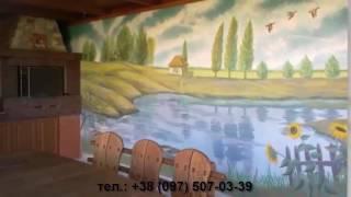Художественная роспись стен художник Днепропетровск недорого цена телефон(, 2016-05-26T08:32:31.000Z)