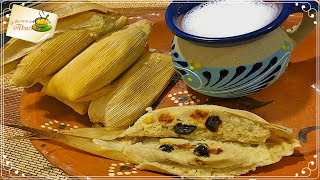 Tamales canarios receta paso a paso