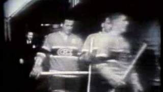 First hockey game on TV!  Oct. 11, 1952