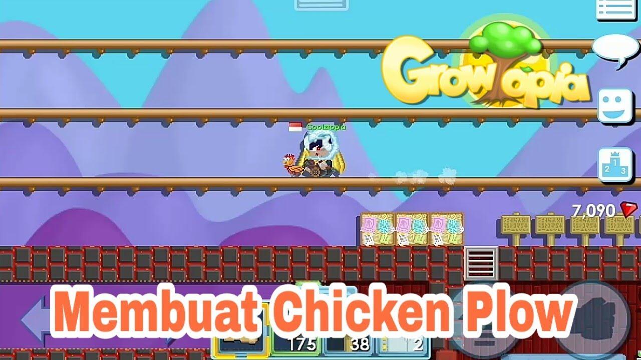Cara Membuat Chicken Plow Growtopia Indonesia Youtube