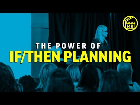 """Unlock the power of """"if-then"""" planning   MELROBBINS EP 28"""