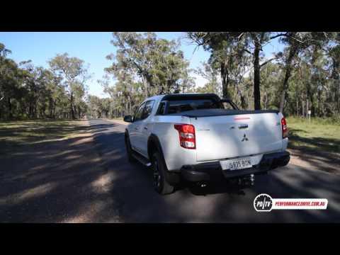 2017 Mitsubishi Triton GLS Sport Edition 0 100km h engine sound