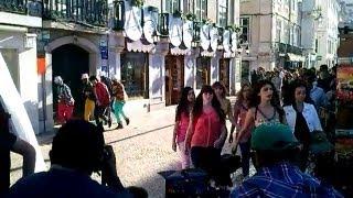 RaviTeja & Shruti Hassan in Balupu Movie Song Shoot Making at Lisbon...