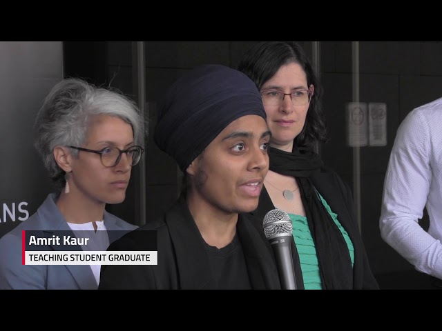 A national Muslim organization is joining civil liberties advocates to launch a court challenge of Quebec's secularism law less than 24 hours after the legislation was adopted. The National Council of Canadian Muslims and the Canadian Civil Liberties Association announced their challenge today. They argue Bill 21 is unconstitutional.
