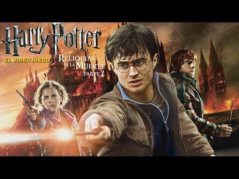 Harry Potter Y Las Reliquias De La Muerte Parte 2 Pelicula Completa L Escenas Del Juego Español Youtube