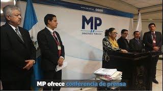 Ministerio Público ofrece conferencia de prensa | Prensa Libre