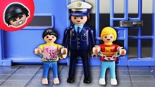 Schüler von der Polizei verhaftet?! Playmobil Polizei Film - KARLCHEN KNACK #133