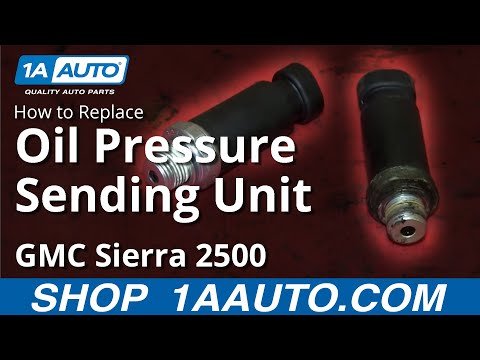 Toyota Camry Se Vs Le - How To Install Replace Oil Pressure Switch Sending Unit 1999-02 Chevy Silverado GMC Sierra