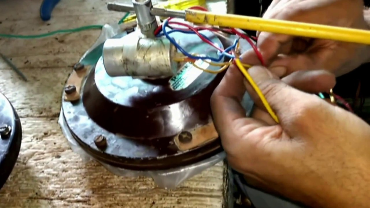 how to wire a capacitor to ceiling fan hindi 1080p hd  [ 1280 x 720 Pixel ]
