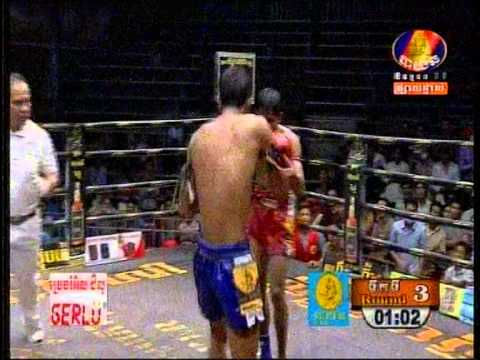 Kom Peng Kmao vs Am Sithey3 | khmer boxing 2015 this week