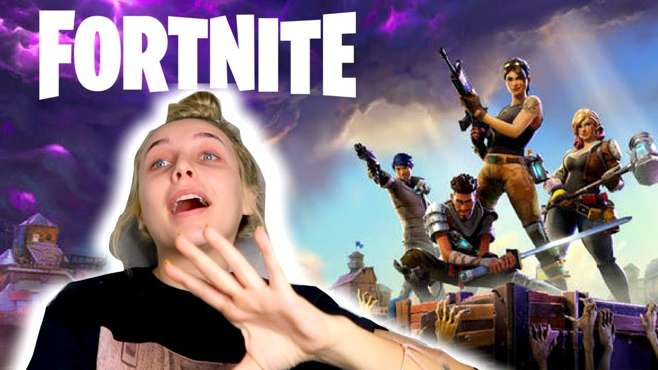 me playing fortnite for views