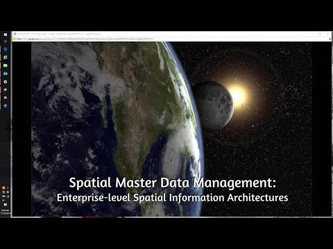 Spatial Master Data Management: Enterprise-level Spatial Information Architectures