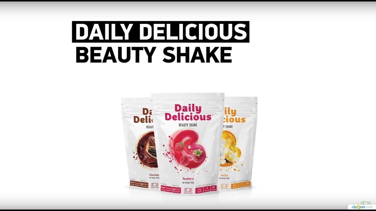 Daily Delicious - невероятно вкусные протеиновые коктейли для красоты.