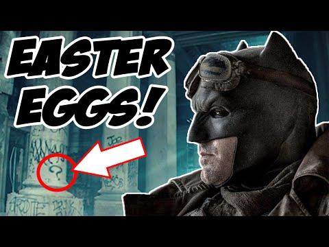 Batman V Superman EASTER EGGS & REFERENCES You May Have Missed!