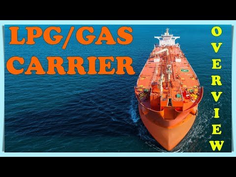 Merchant Navy | Overview of LPG/GAS Tanker Ship!