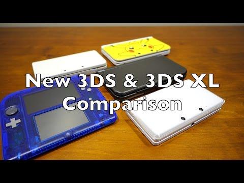 New 3DS vs New 3DS XL Comparison (Nintendo)