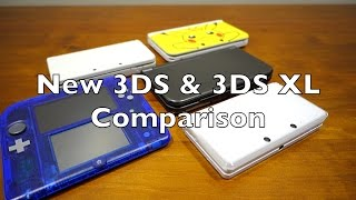 New 3DS vs New 3DS XL Comparison (Nintendo)