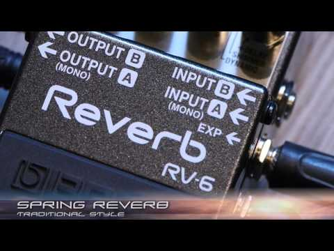 BOSS RV-6 Reverb Sound Preview