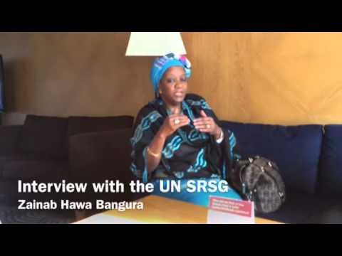 Interview with the UN SRSG-SVC Zainab Bangura