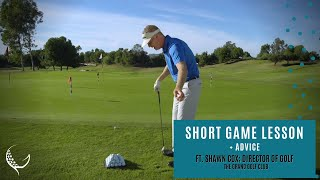 Golf Lesson to hit consistent chip shots