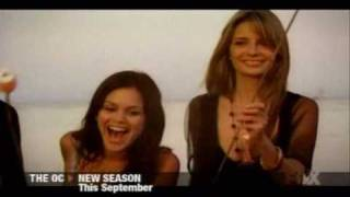 The O.C. Season 3 Promo (cast on beach)
