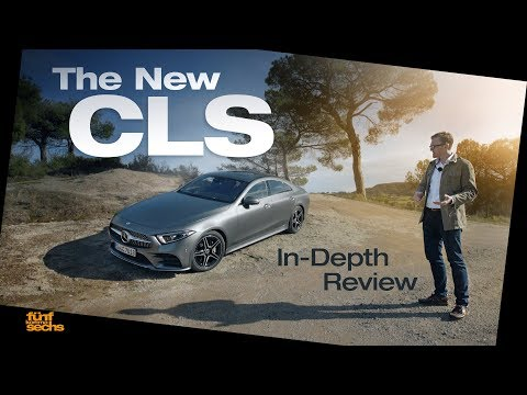 The New Mercedes CLS  Testdrive & Review German
