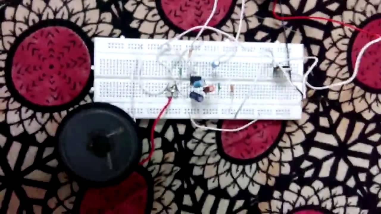 Two Way Intercom Youtube Circuit Using Lm386 Ic Diagram