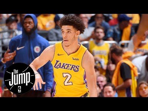 Lonzo Ball is soft | The Jump | ESPN