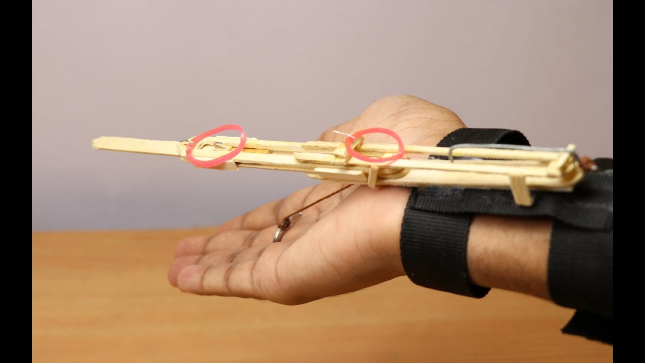 how to make weapons out of sticks