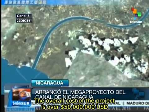 Interoceanic Canal megaproject launched in Nicaragua