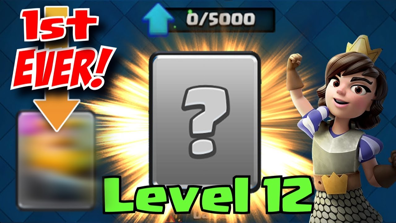 1st EVER LEVEL 12 CARD! Clash Royale | TIME TO TEST IT OUT!