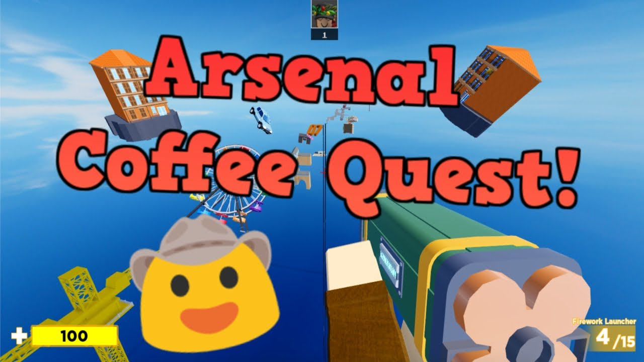 Arsenal Coffee Quest Free Kill Effect and Badge (Roblox) YouTube