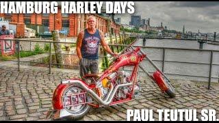 Hamburg Harley Days Parade 2016 mit Paul Teutul Sr von Orange County Choppers USA