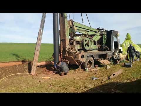 حفر 160 م . القادوس حديد    fourage d un puits