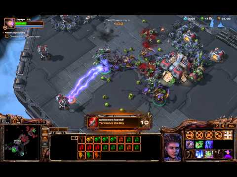 Death From Above - All Mission Achievements Guide - Starcraft II: Heart of the Swarm