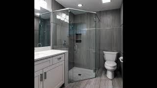 Best Corner Shower Ideas,Corner shower for small bathroom, Bathroom Interior Designs #2