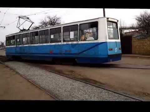 Konotop Ukraine Trams  March, 2016